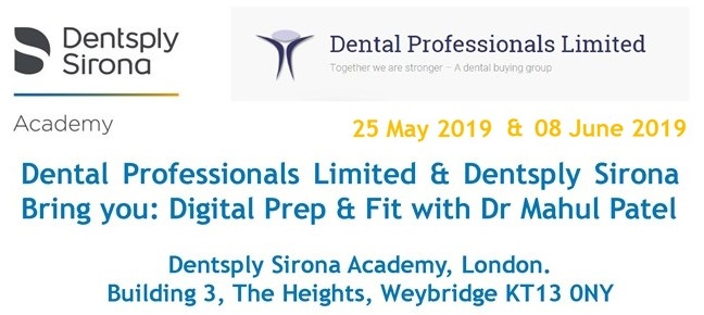 DPL and Dentsply Digital Prep & Fit Day FULLY BOOKED